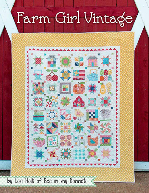 farm girl vintage quilt pattern the noble quilter