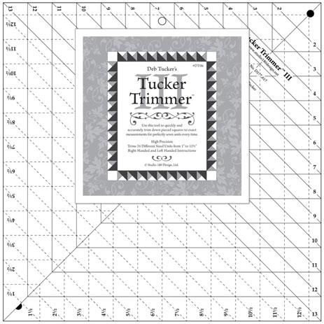 Tucker Trimmer III Ruler